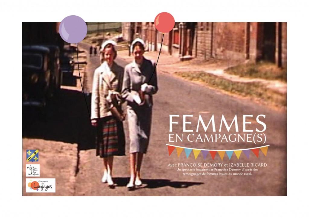 Spectacle - Compagnie des Langages - Femmes en Campagne(s)