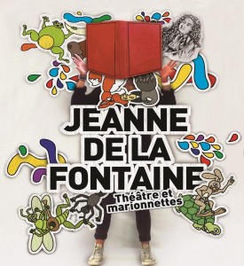 AFFICHE JEANNE DE LA FONTAINE Avignon CATALOGUE OFF 2015