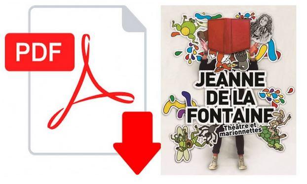 """Image dossier de présentation """"Jeanne de la Fontaine"""""""